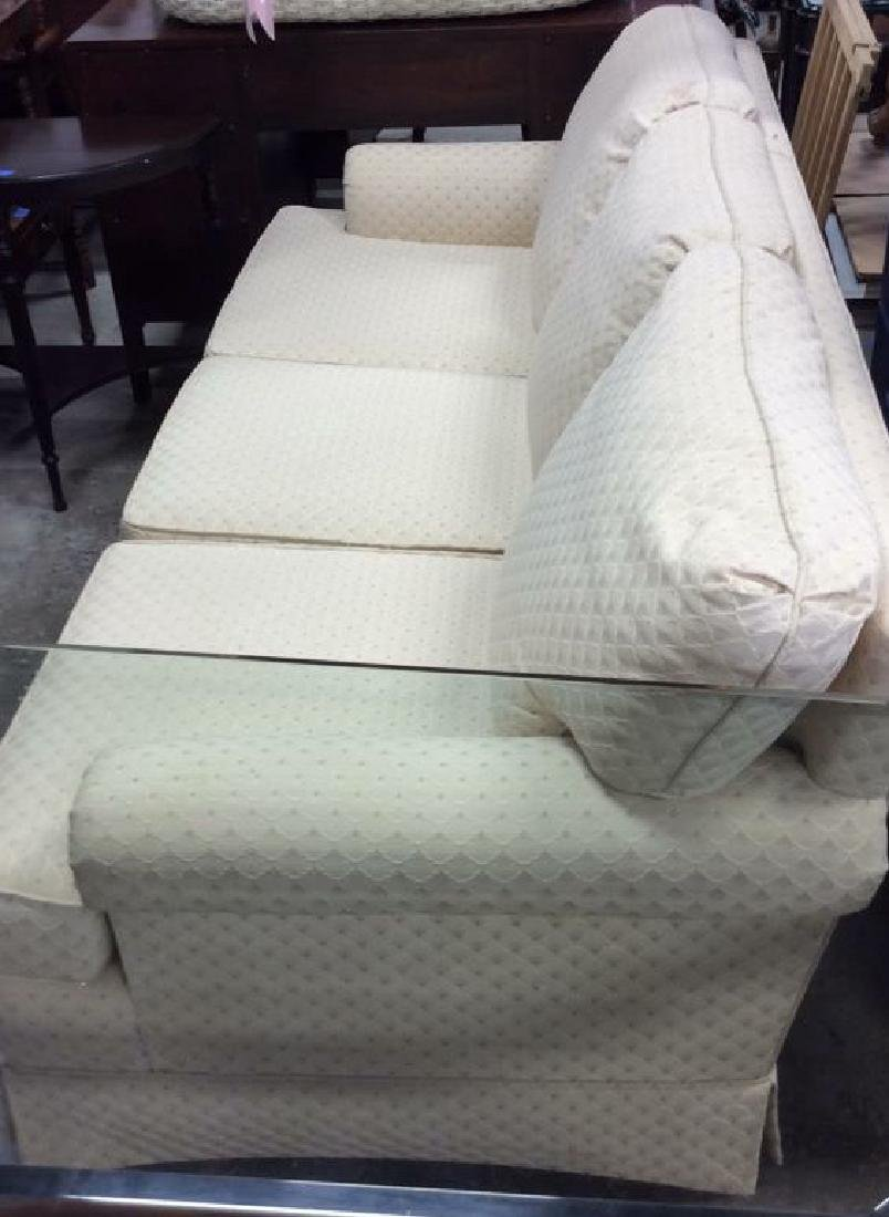 Conover Cream Upholstered Sofa Upholstered sofa in off - 3