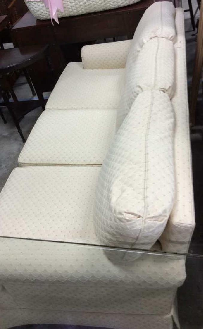 Conover Cream Upholstered Sofa Upholstered sofa in off - 4