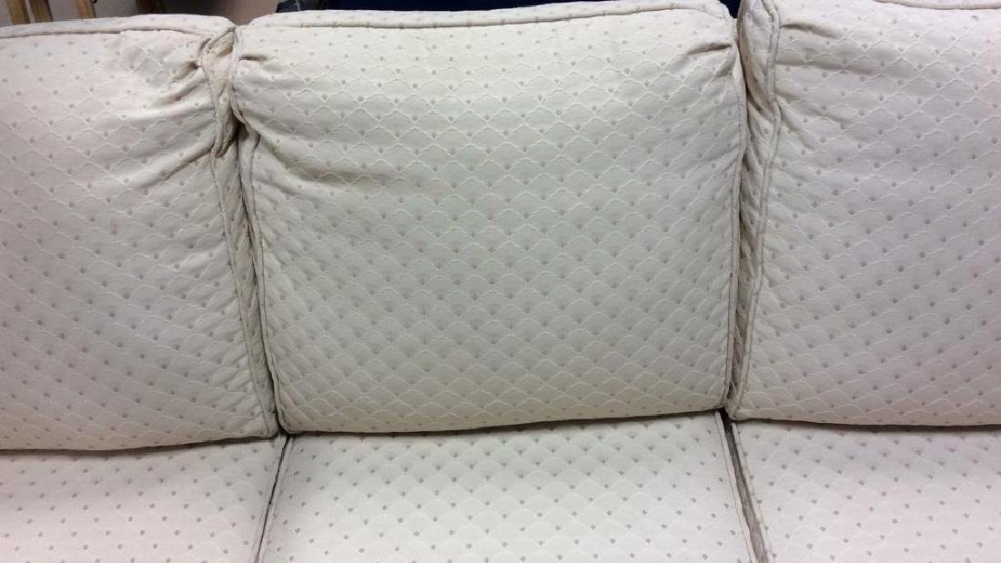 Conover Cream Upholstered Sofa Upholstered sofa in off - 5