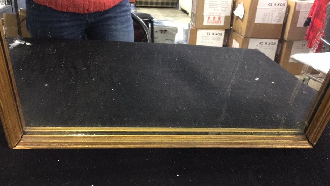 Vintage Carved Gilded Wall Mirror Vintage wall hanging - 4
