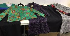 Vintage Ladies Designer Clothing Assorted vintage