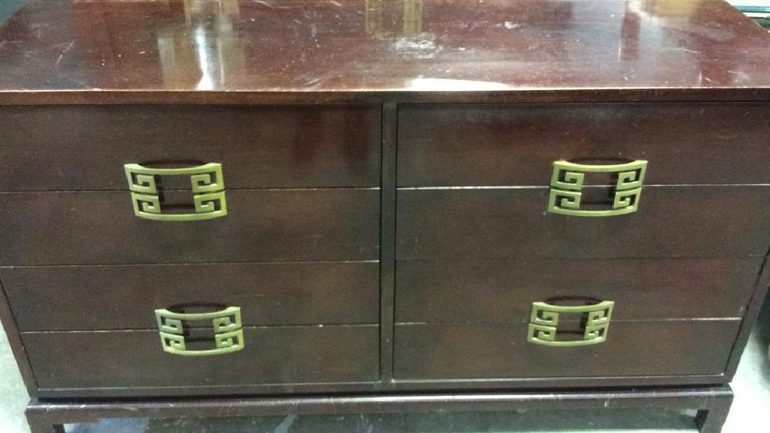 Vintage Set 2 Dressers Morgan Furniture Co Asian style - 2