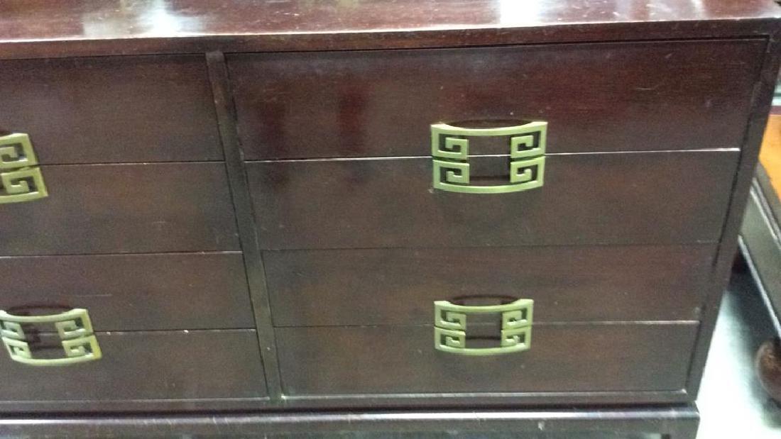 Vintage Set 2 Dressers Morgan Furniture Co Asian style - 5
