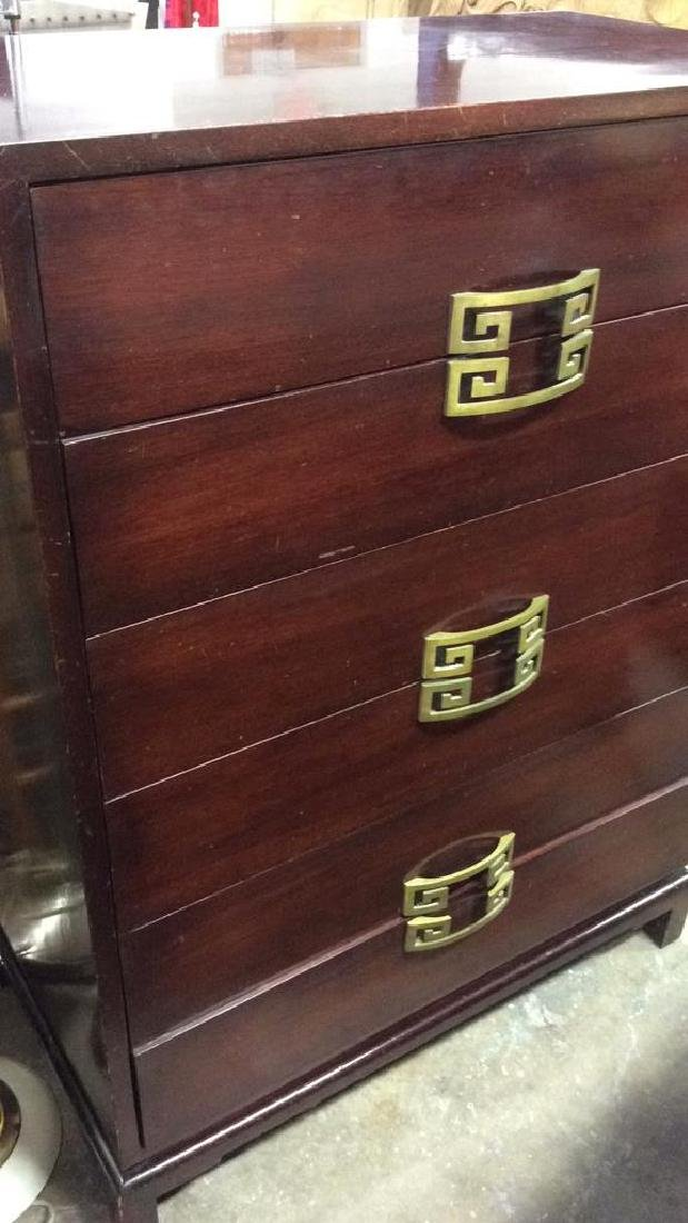 Vintage Set 2 Dressers Morgan Furniture Co Asian style - 6