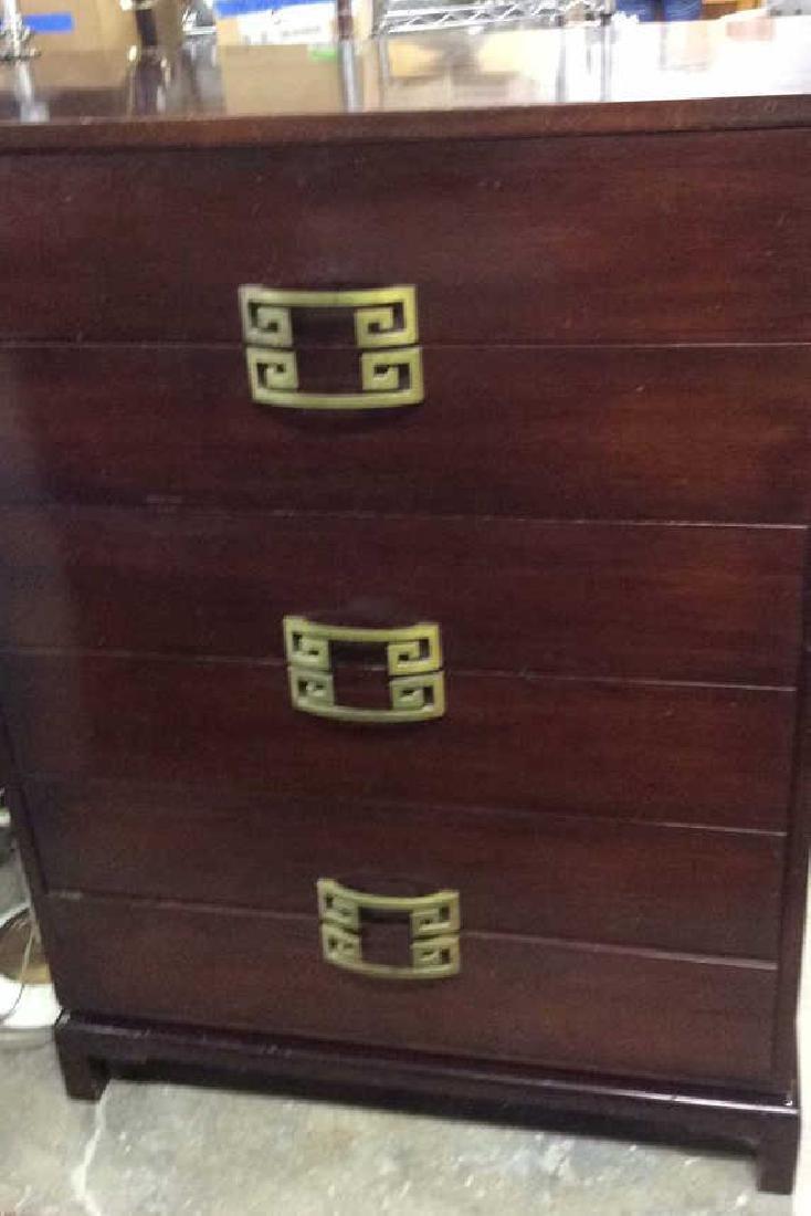 Vintage Set 2 Dressers Morgan Furniture Co Asian style - 7