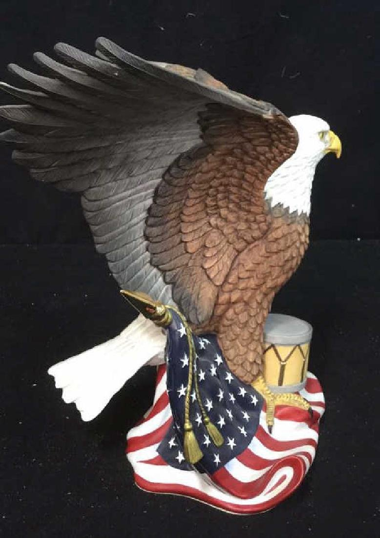 """Limited Edition Lenox Porcelain American Eagle """"Wings - 4"""