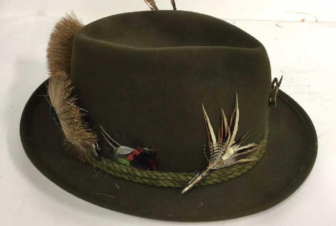 Vintage Anton Pichler Graz Mens Hat Vintage felt hat - 2