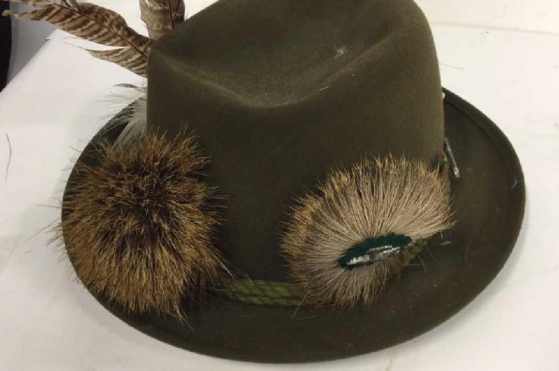 Vintage Anton Pichler Graz Mens Hat Vintage felt hat - 3