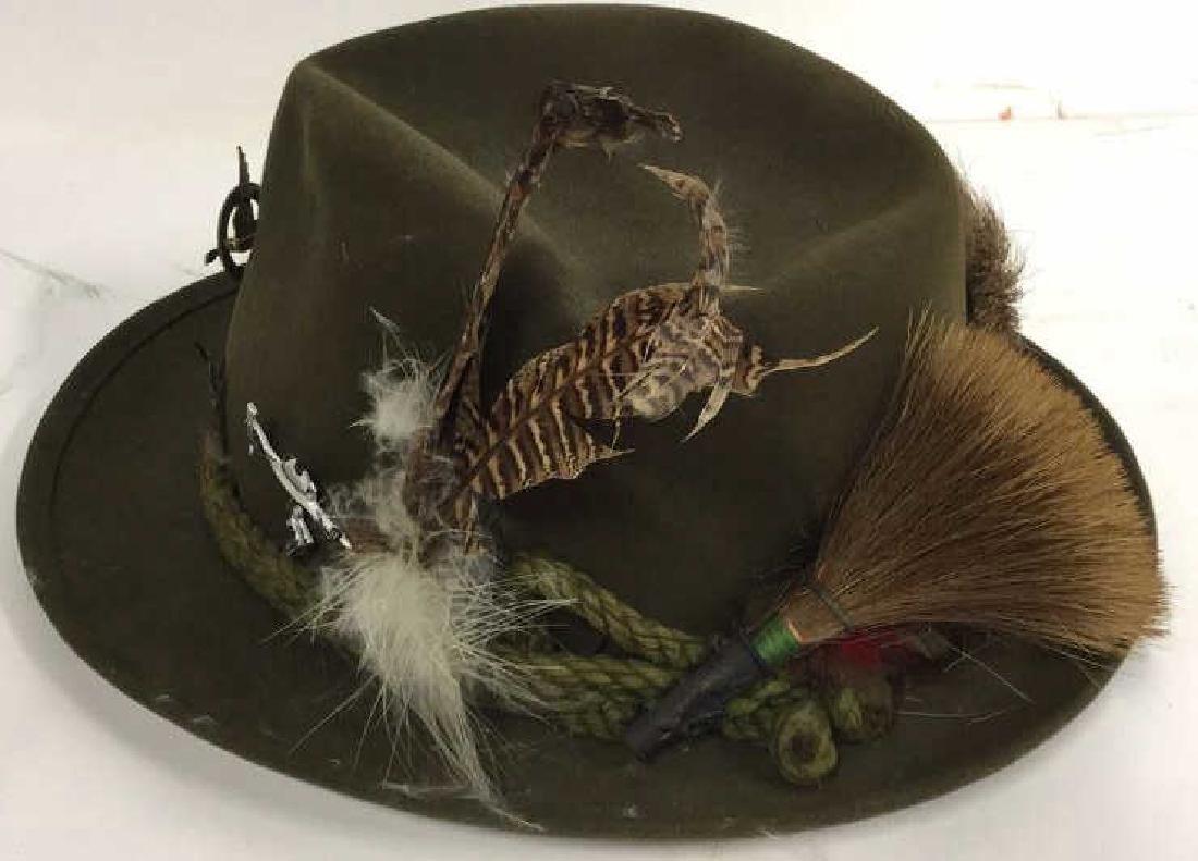 Vintage Anton Pichler Graz Mens Hat Vintage felt hat - 4