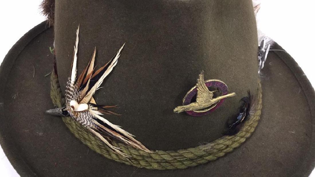 Vintage Anton Pichler Graz Mens Hat Vintage felt hat - 6