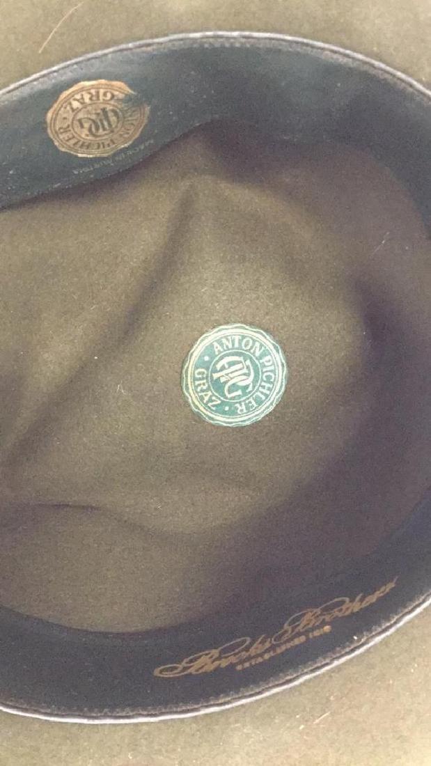 Vintage Anton Pichler Graz Mens Hat Vintage felt hat - 7