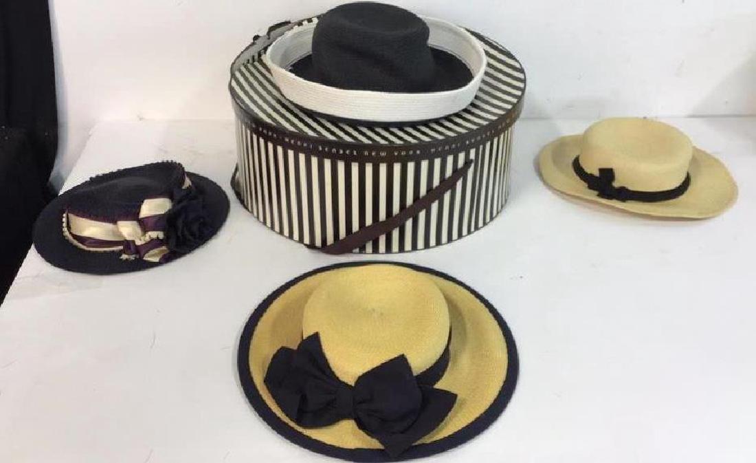 Collection of Four Vintage Ladies Hats 4 vintage ladies - 10