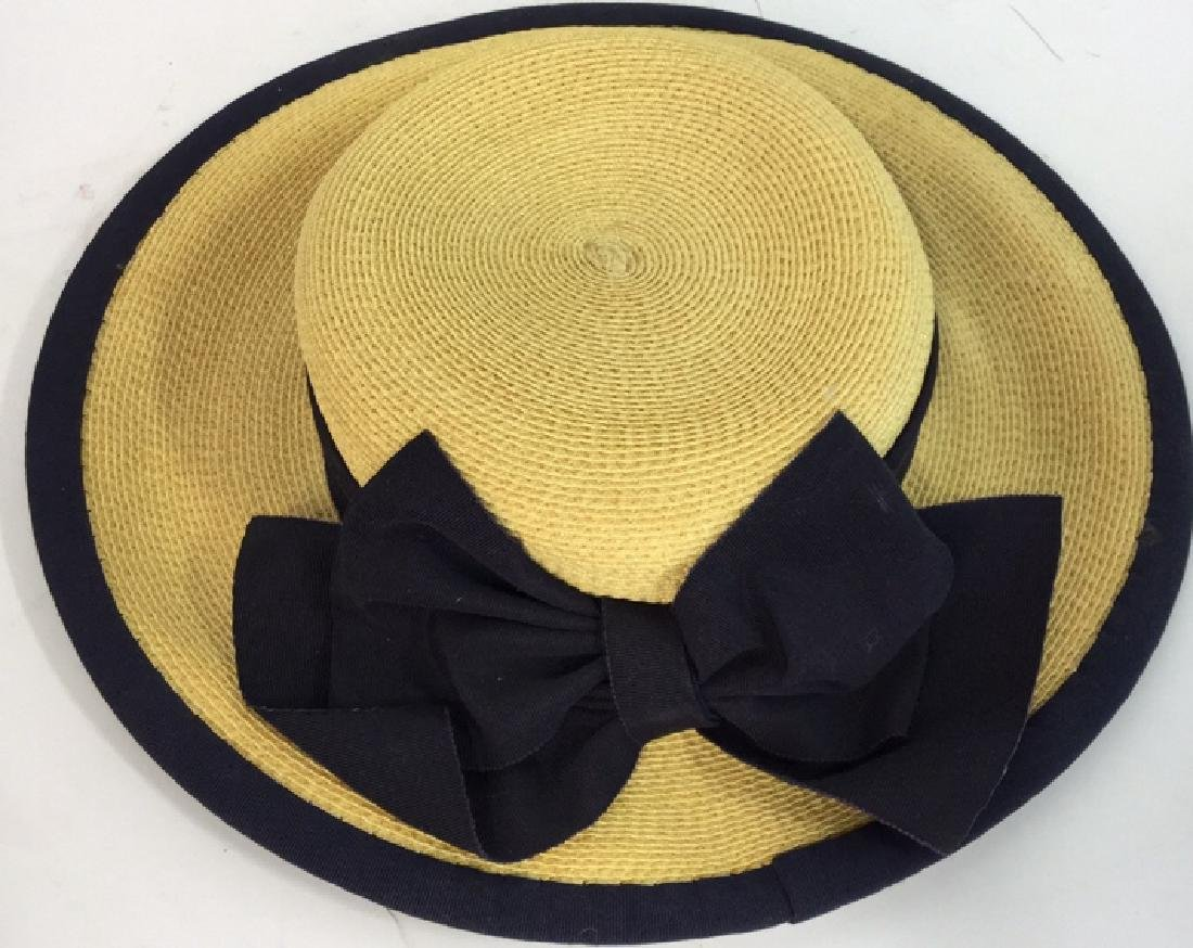 Collection of Four Vintage Ladies Hats 4 vintage ladies - 4