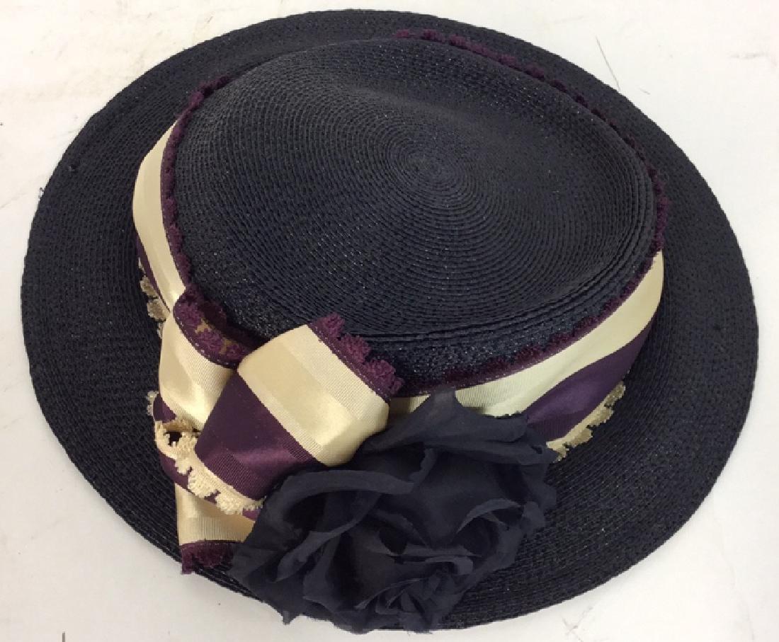 Collection of Four Vintage Ladies Hats 4 vintage ladies - 6
