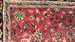 Meridian Wool Oriental Carpet Vintage oriental wool
