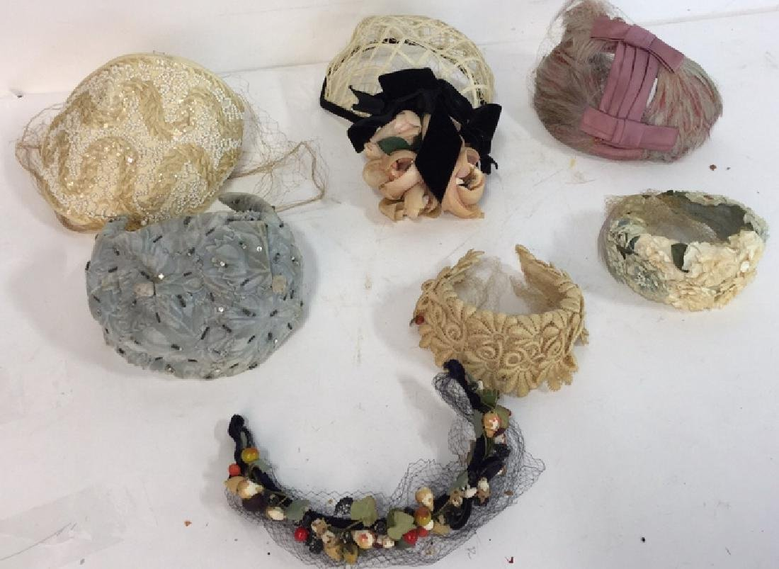 Collection Of Vintage Ladies Hats And More Assorted