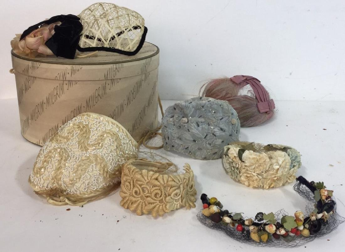 Collection Of Vintage Ladies Hats And More Assorted - 9