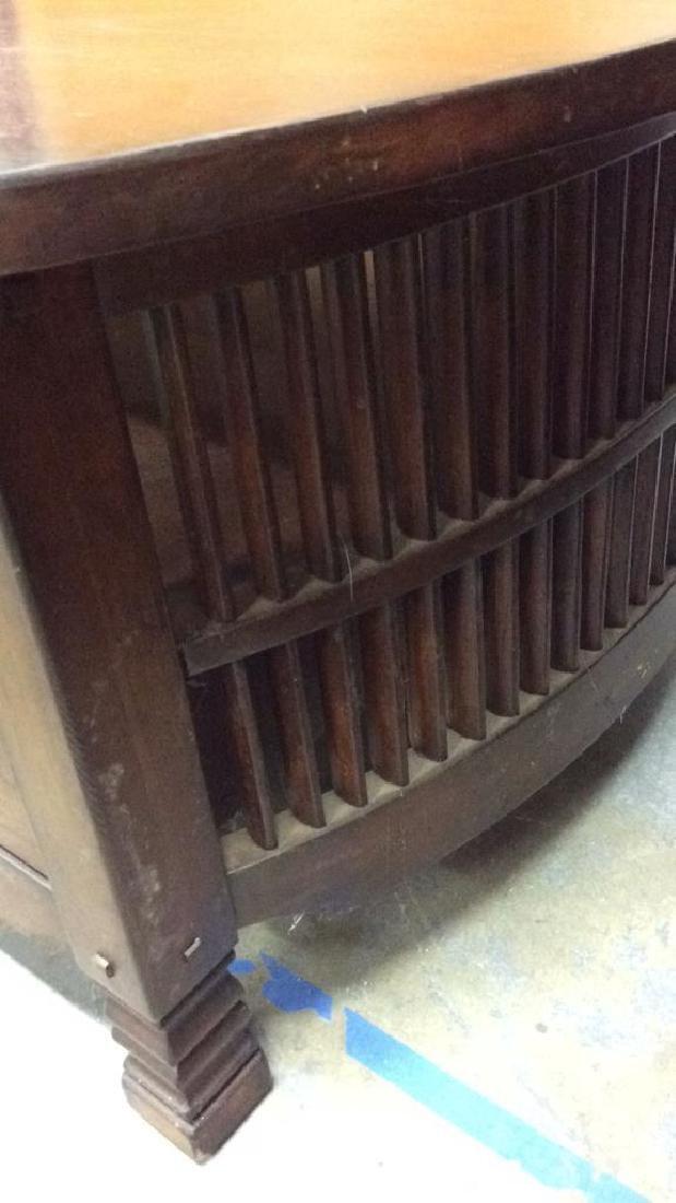 Vintage Mahogany Coffee Table Coffee table low table - 3