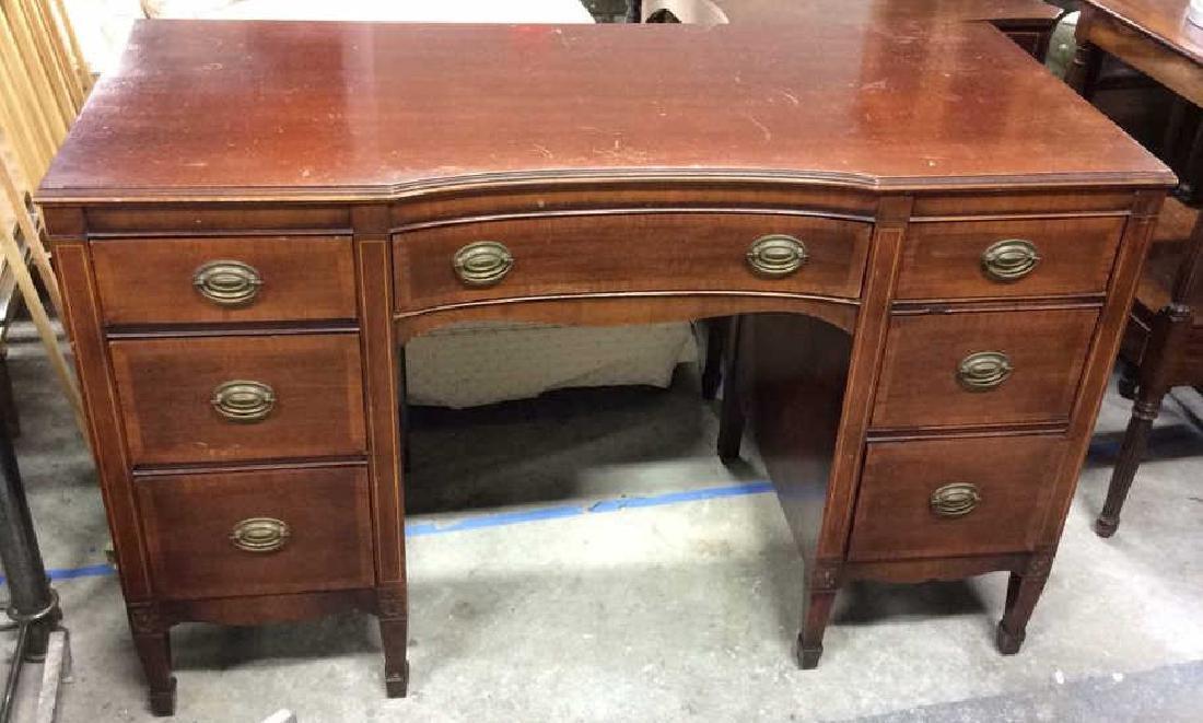 Kindel Vintage Mahogany Desk Kindel Grand Rapids
