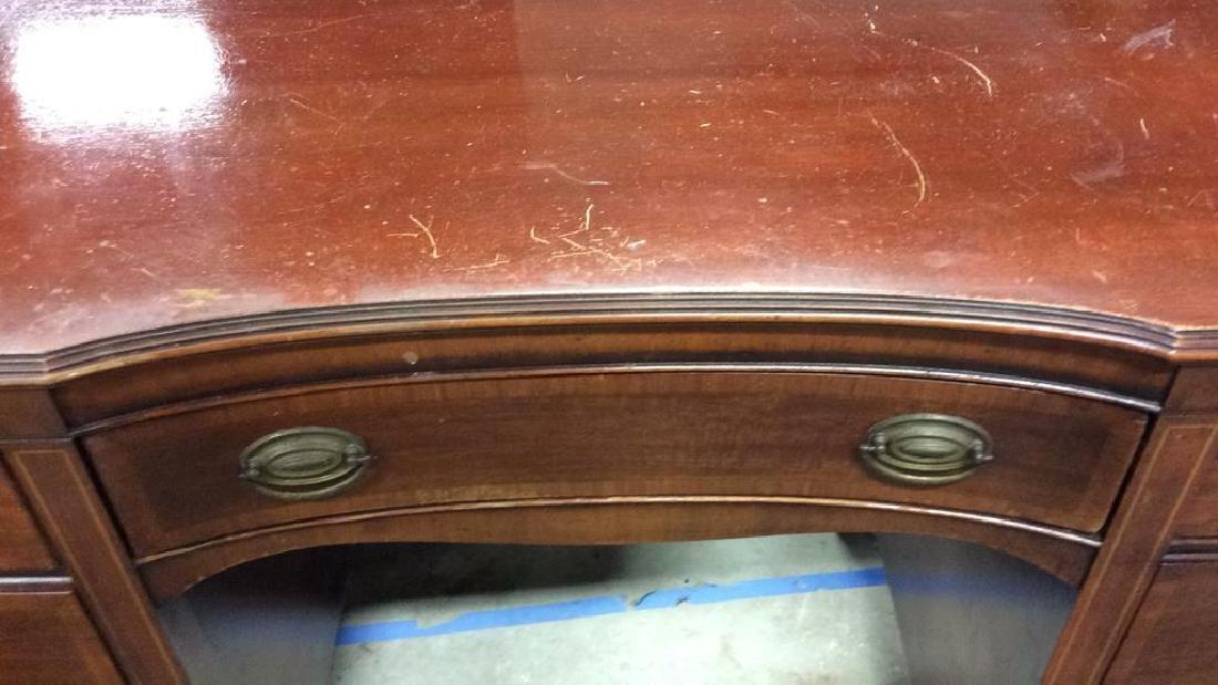 Kindel Vintage Mahogany Desk Kindel Grand Rapids - 5