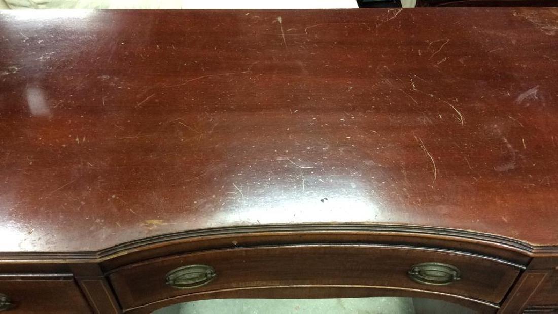 Kindel Vintage Mahogany Desk Kindel Grand Rapids - 6