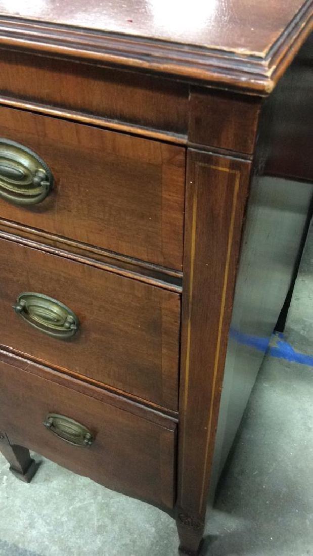 Kindel Vintage Mahogany Desk Kindel Grand Rapids - 7