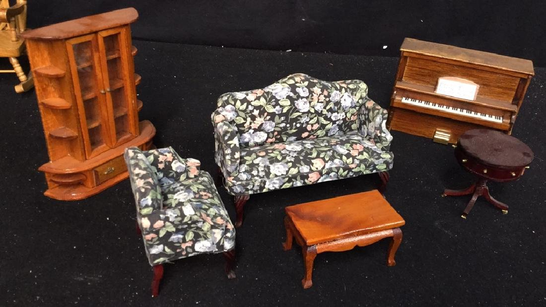 Collection Of Vintage Dollhouse Furniture Assortment of - 4