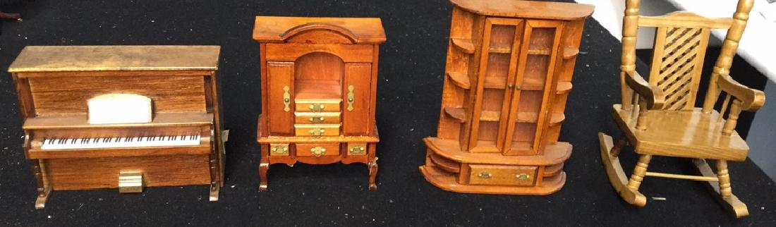 Collection Of Vintage Dollhouse Furniture Assortment of - 6