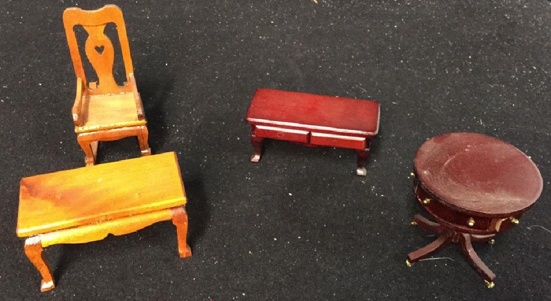 Collection Of Vintage Dollhouse Furniture Assortment of - 8