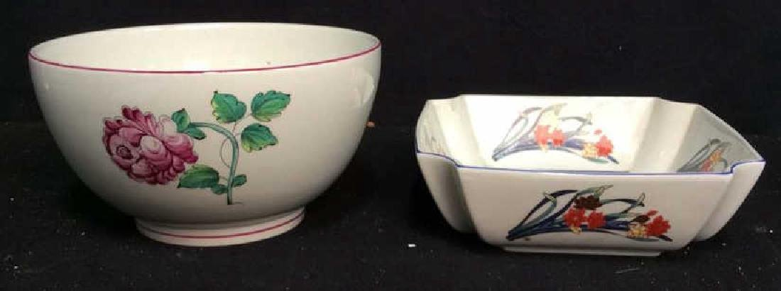 2 Signed Tiffany Porcelain Bowls One is round, white - 10