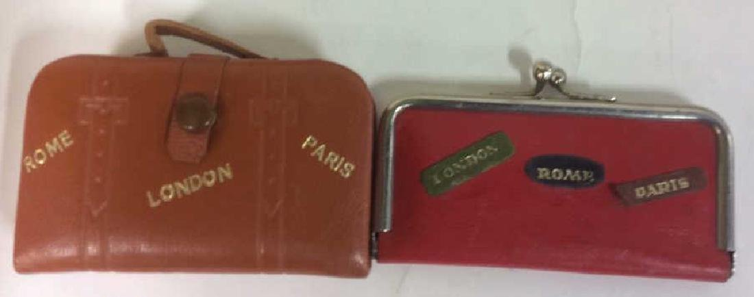 Vintage Lido New York Leather Jewelry Travel Cases - 2