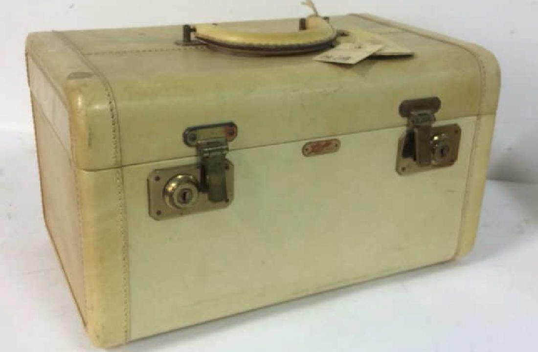 Vintage Lido New York Leather Jewelry Travel Cases - 4