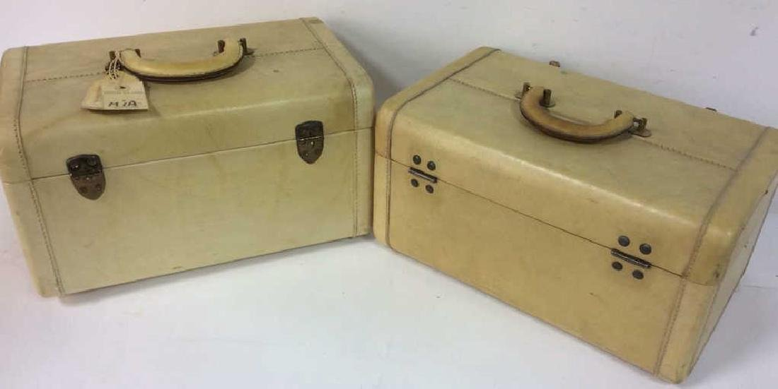 Vintage Lido New York Leather Jewelry Travel Cases - 8