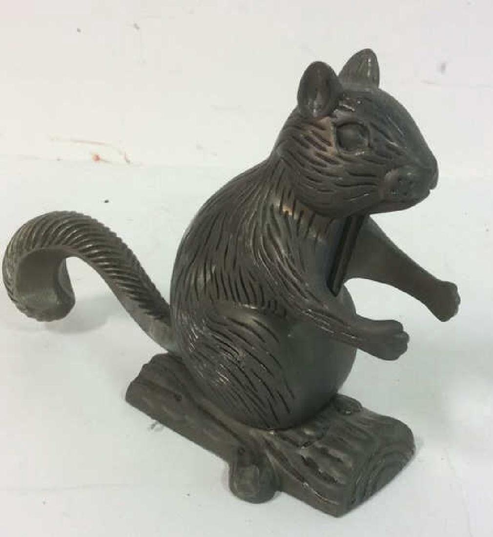 Vintage Metal Squirrel Nutcracker Squirrel form vintage