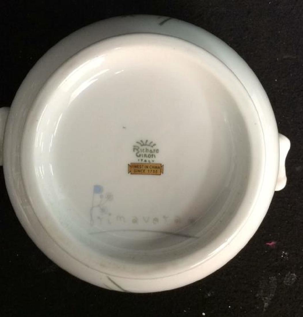 Richard Ginori Porcelain Bowl Made in Italy White - 2