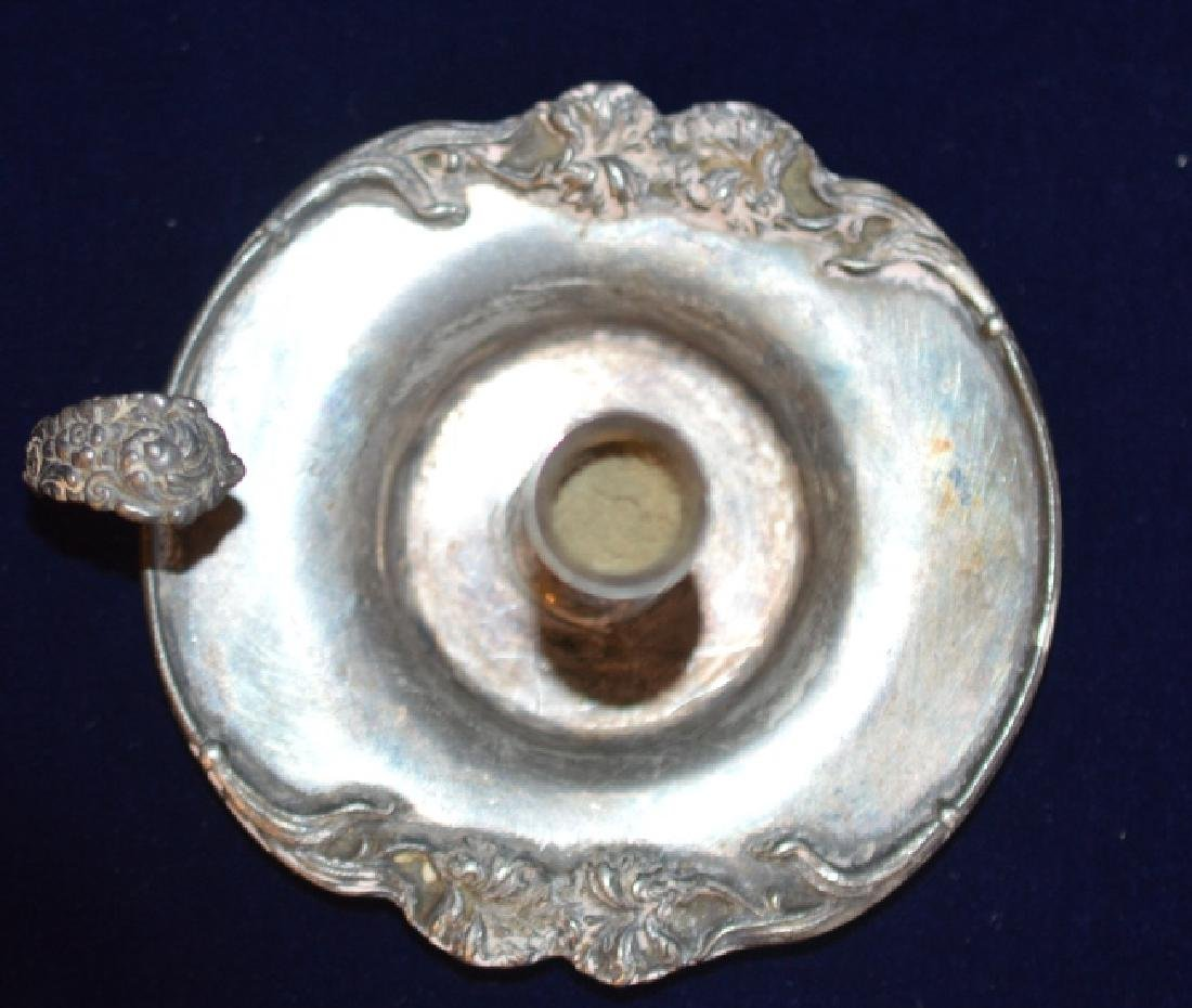 Victorian Taper Candle Holder With Finger Ring - 2