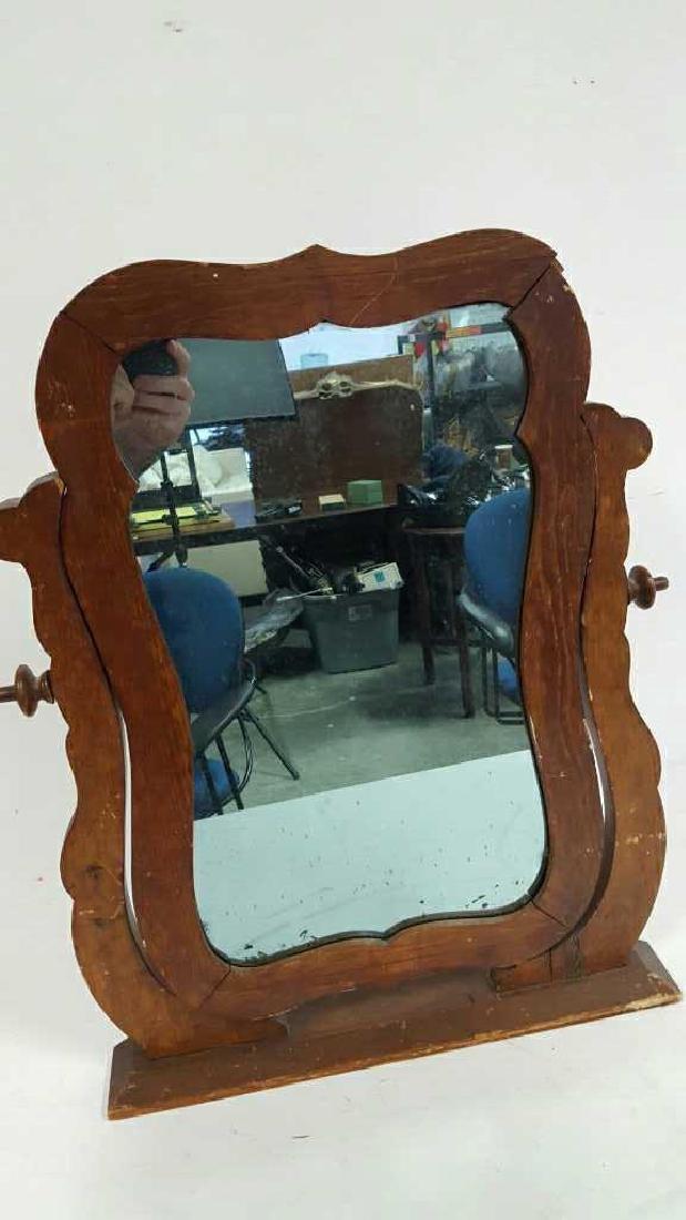 Desk Desk Vintage Mirror Desk Desk Vintage Mirror, - 2