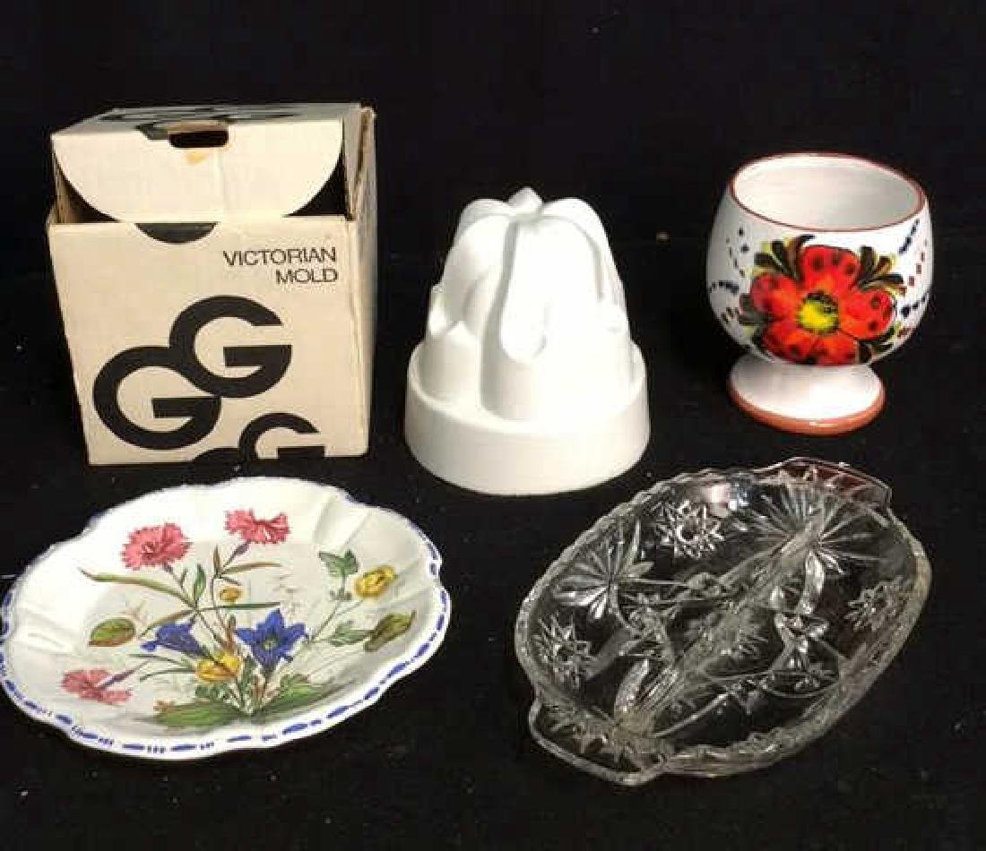Group Lot Vintage Kitchen Table Top Vintage Victorian