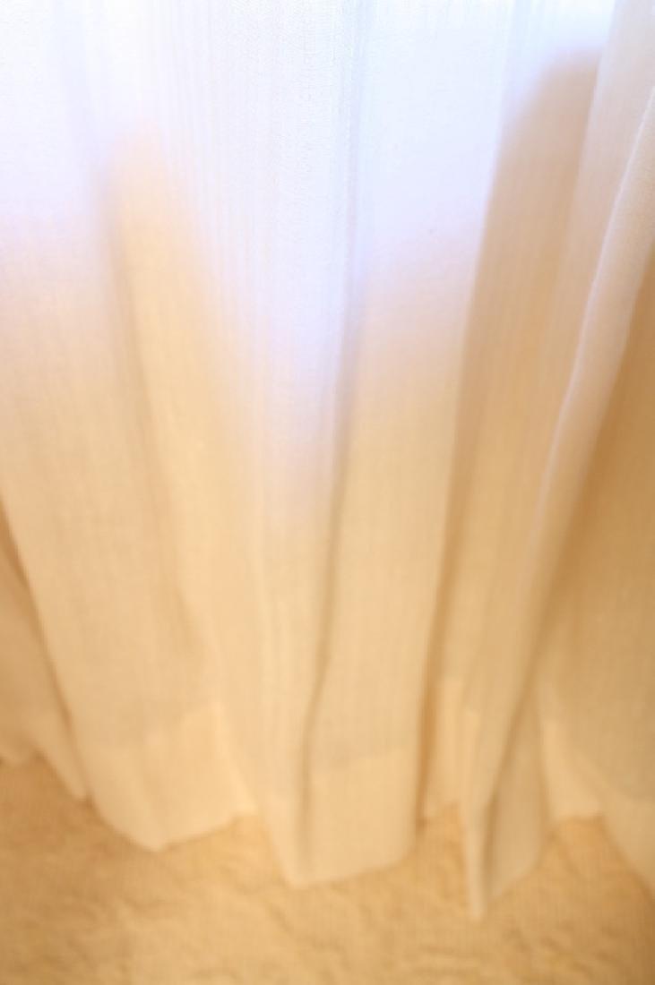 DONGHIA silk linen sheer drapes Custom made Donghia