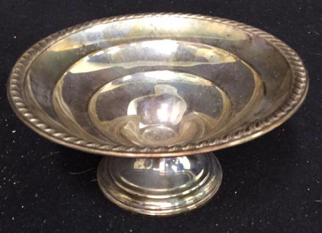 Vintage Sterling Silver Candy Dish Pedestal Seerving
