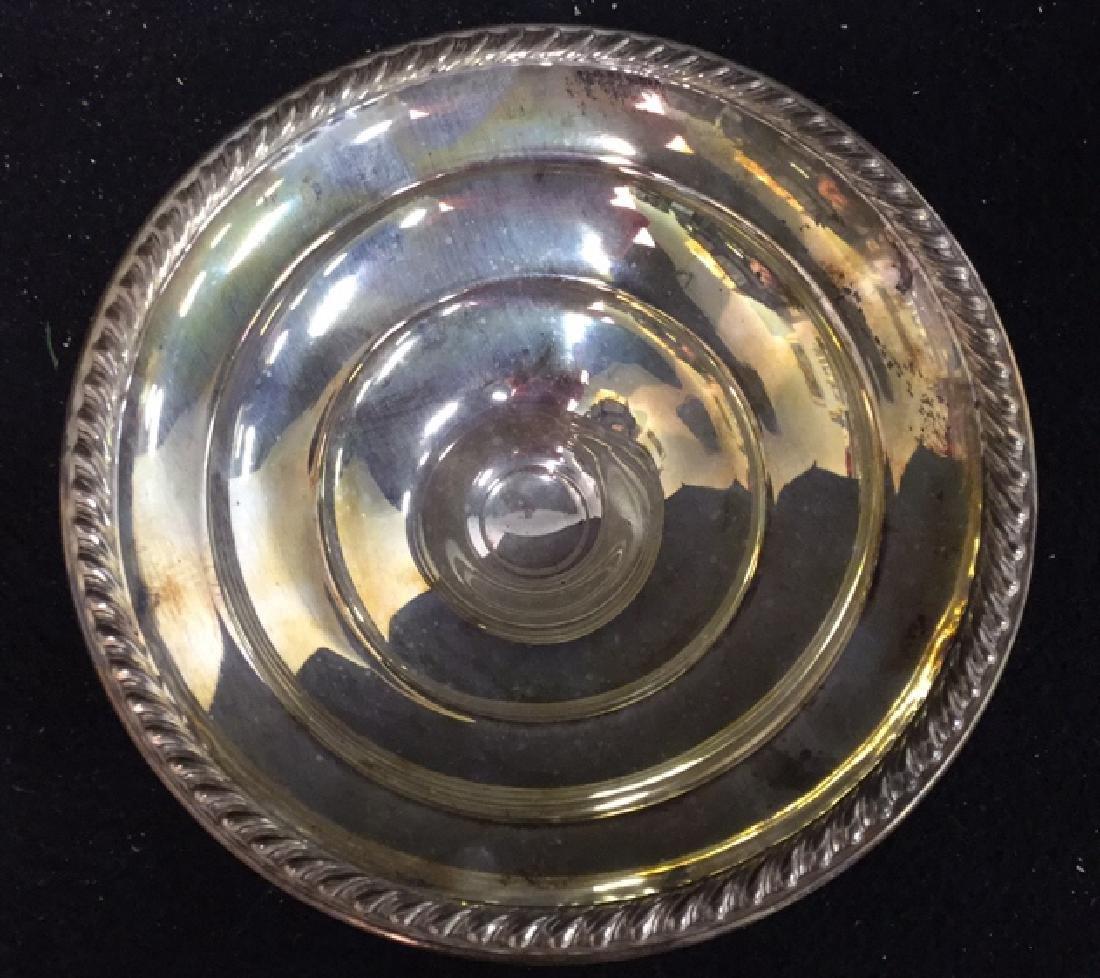 Vintage Sterling Silver Candy Dish Pedestal Seerving - 3