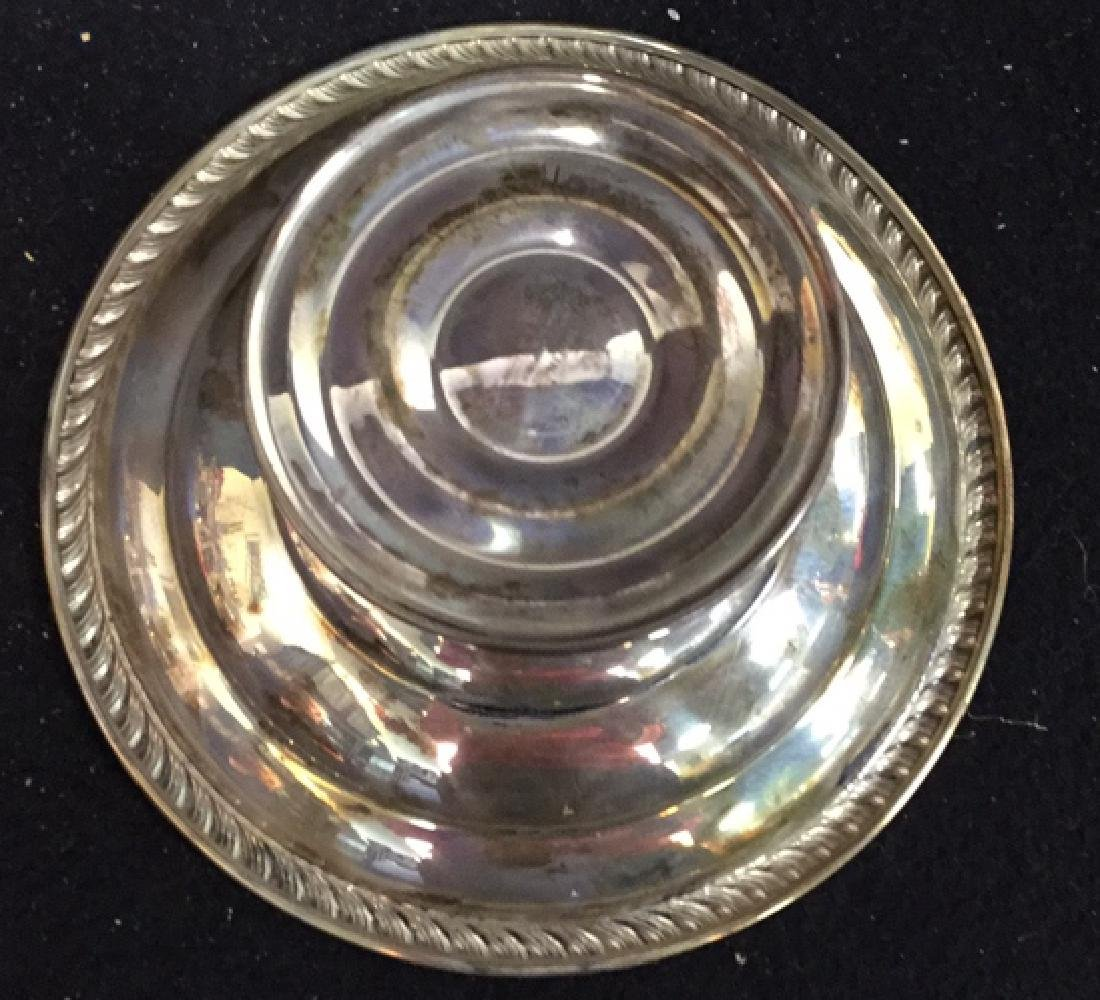 Vintage Sterling Silver Candy Dish Pedestal Seerving - 4