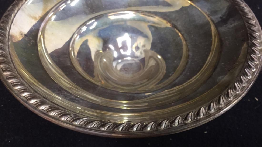 Vintage Sterling Silver Candy Dish Pedestal Seerving - 6