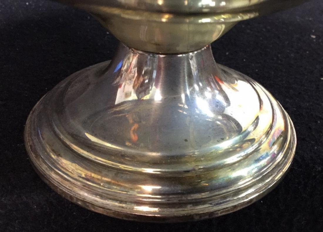 Vintage Sterling Silver Candy Dish Pedestal Seerving - 7