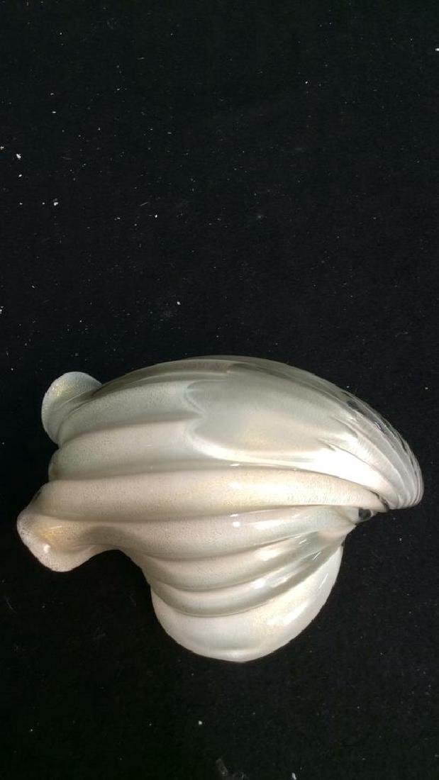 Vintage Murano Glass Shell Decorative Piece This - 8