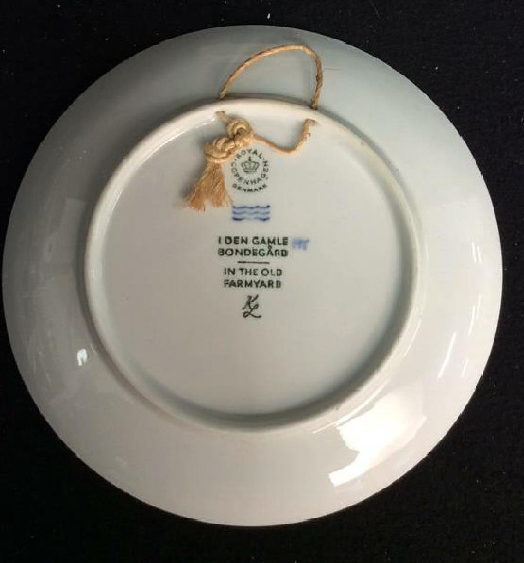 Royal Copenhagen 1969 Porcelain Collector  Plate - 3