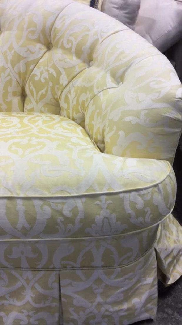 3 Piece Down Sectional Sofa Tufted back loose seats - 6