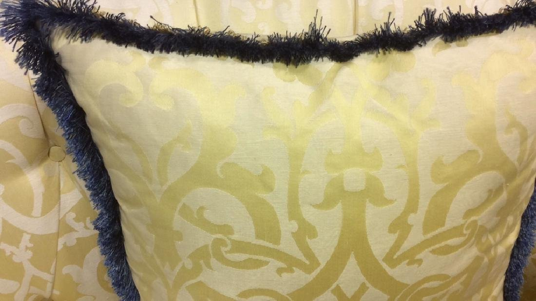 Set 4, Custom Down Filled Fringed Throw Pillows Throw - 7