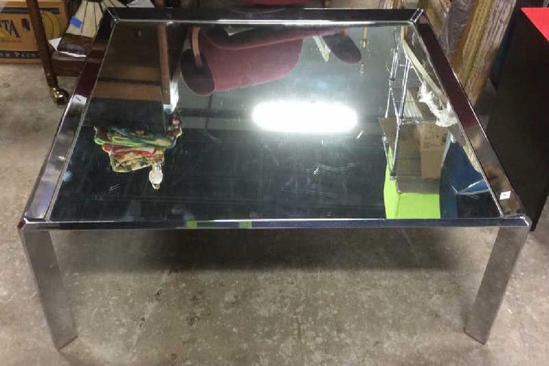 Chrome and Mirror Coffee Table Coffee table, low table, - 10