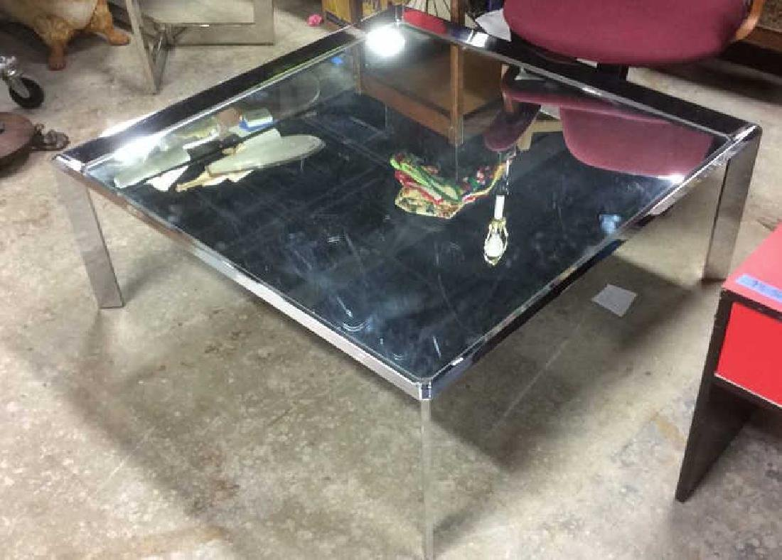 Chrome and Mirror Coffee Table Coffee table, low table,